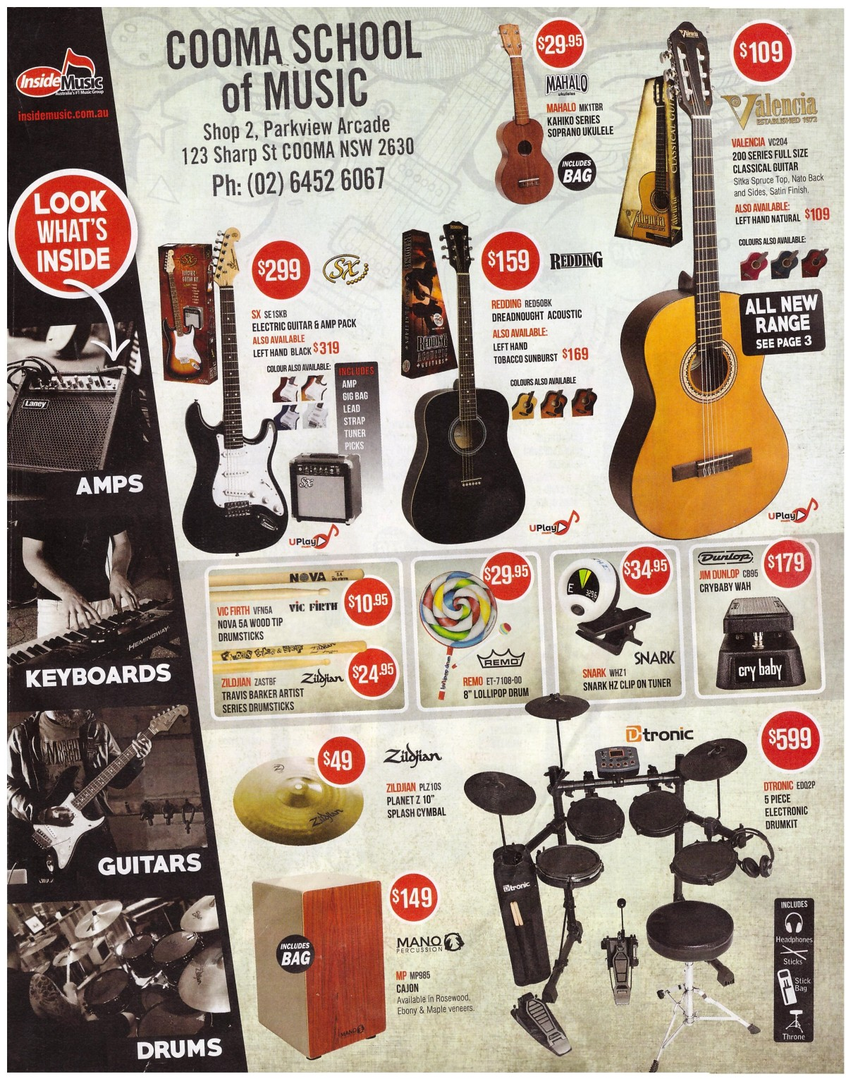 INSIDE MUSIC FRONT PAGE FULL