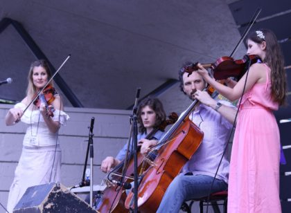 The String Family (Moir Family Quartet) -Open Champions -Best Band Special Judges Award_Family