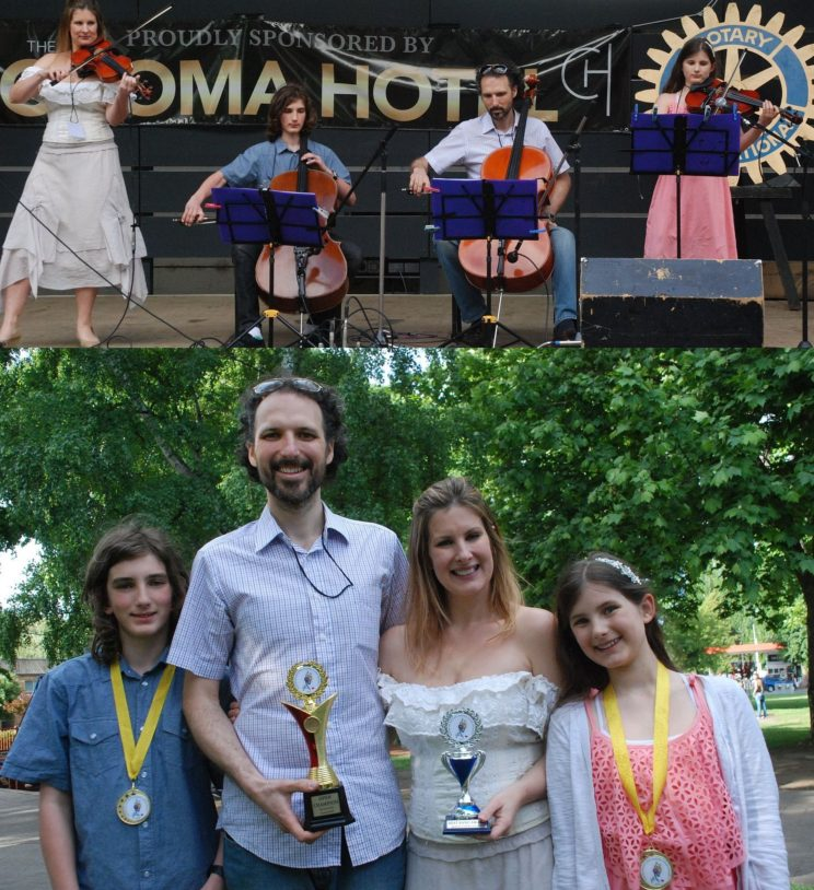 The String Family -Open Champions -Best Band -Special Judges Award_Family