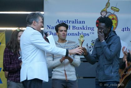 Geoffrey Williams, Australian National Busking Champion 2017